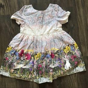 Floral/Bunny Dress